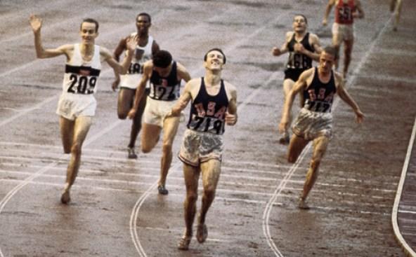 Bob Schul wins 5000 in 1964