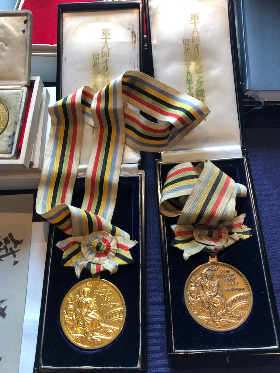 Team medals