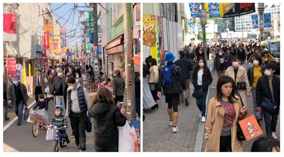Gakugeidaigaku 15March and Shibuya 21March