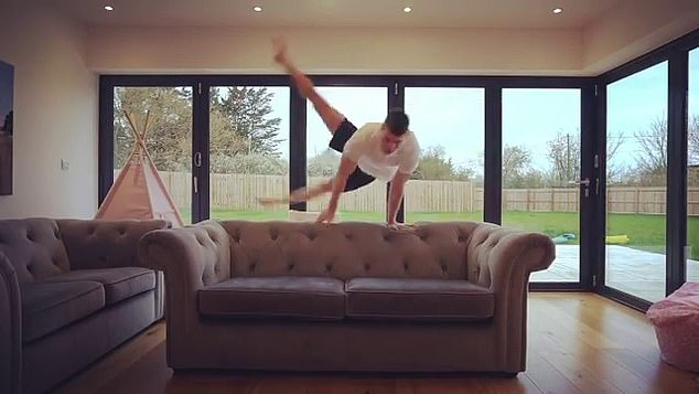 Max Whitlock sofa