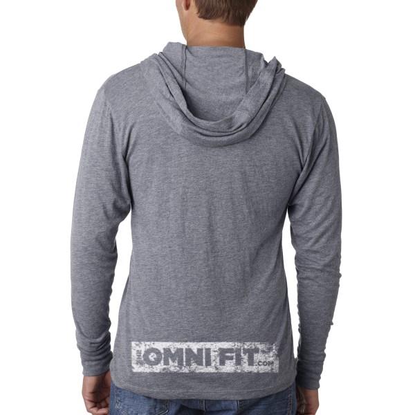 unisex hoodie back
