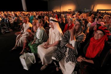 Audience Members in Costume
