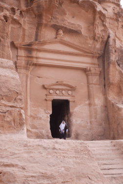 Gary Young in Petra