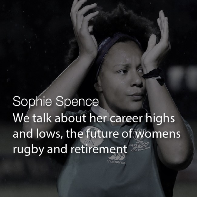 Sophie Spence Irish Rugby