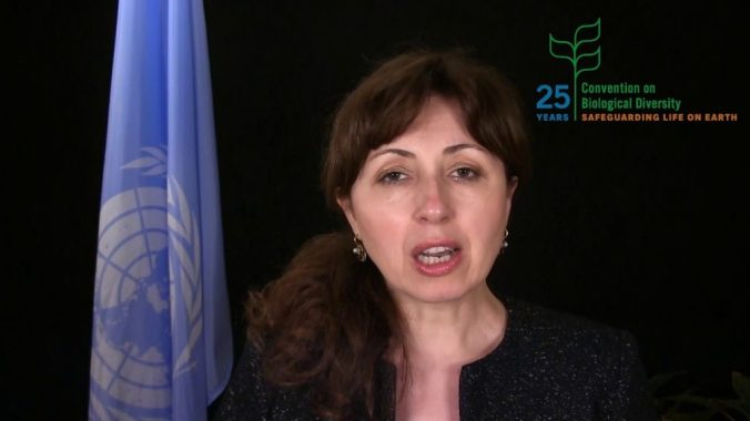 Exec Secretary of the Convention on Biological Diversity Cristiana Pasca Palmer