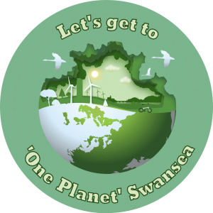 One Planet Swansea logo