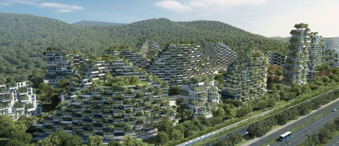 Urban forest in China