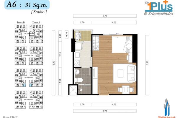 The1Plus2-A6-Floor7-31-Studio