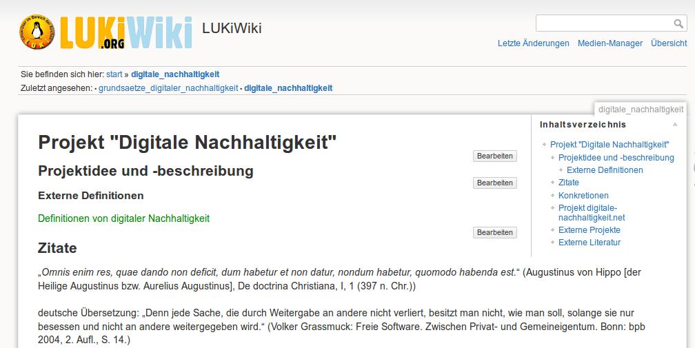 Luki-Wiki Digitale Nachhaltigkeit