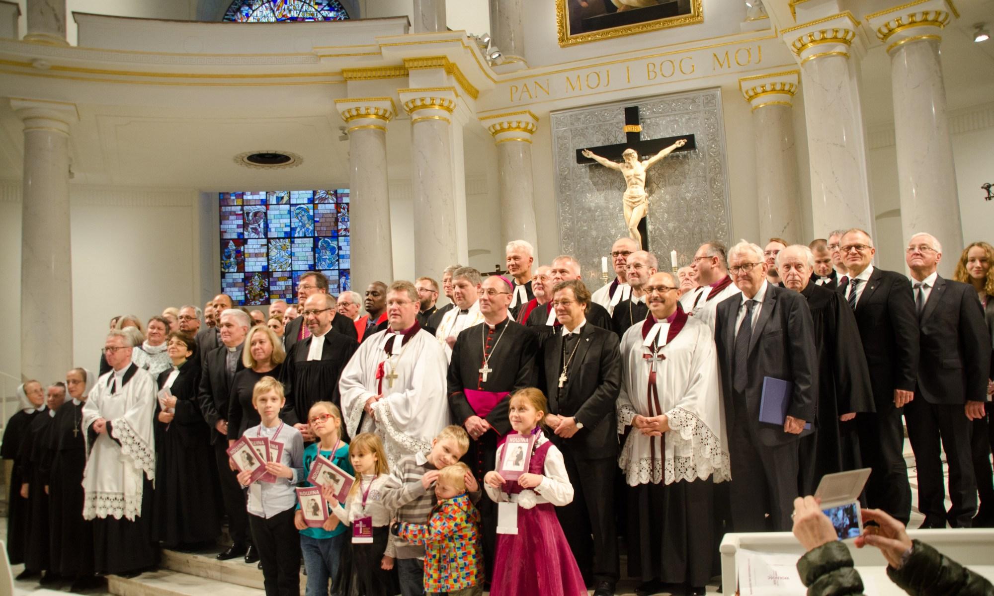 Festgottesdienst in der Warschauer Trinitatiskirche