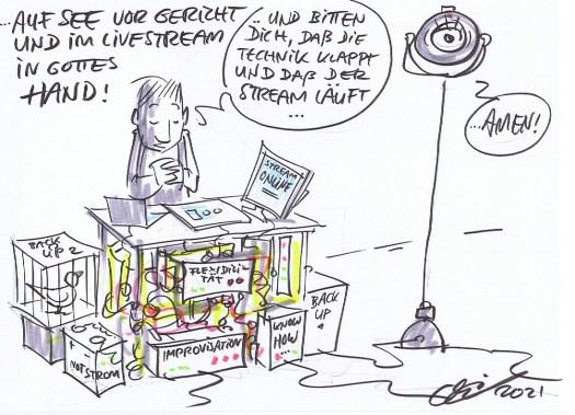 Streaming und Improvisation (© Michael Hüter)