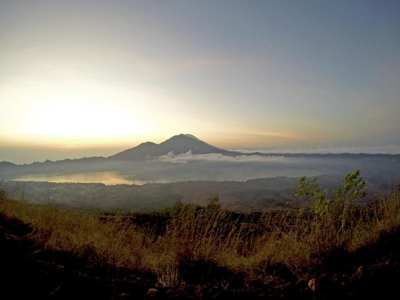 Go Pro Mount Batur sunrise trek
