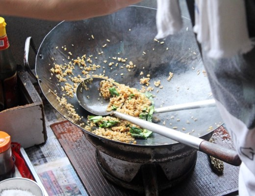 how to cook nasi goreng