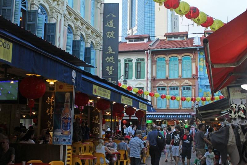Nákupy v Chinatown