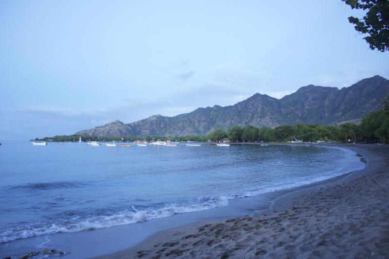 Pláž Pemuteran, sever Bali