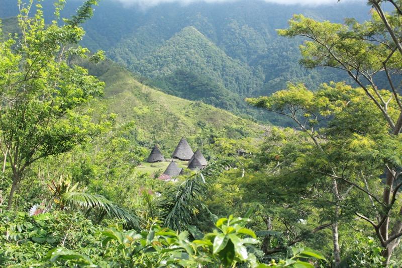 Wae Rebo sa nachádza hlboko v džungli