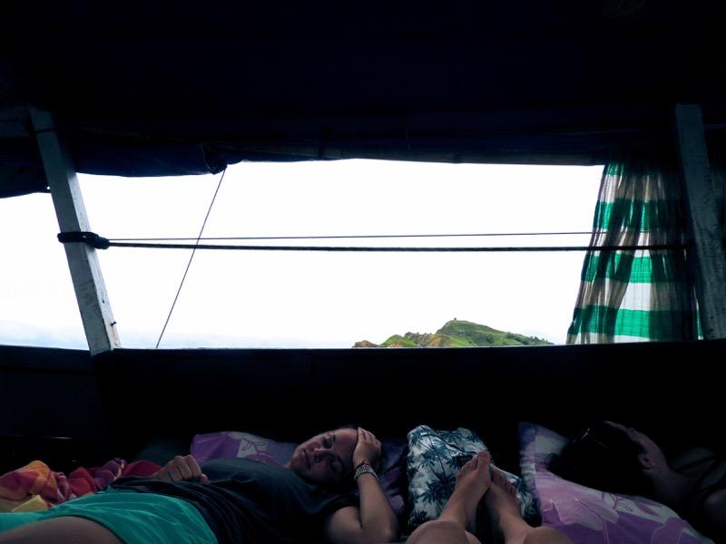 Cesta späť loďou do Labuan Bajo