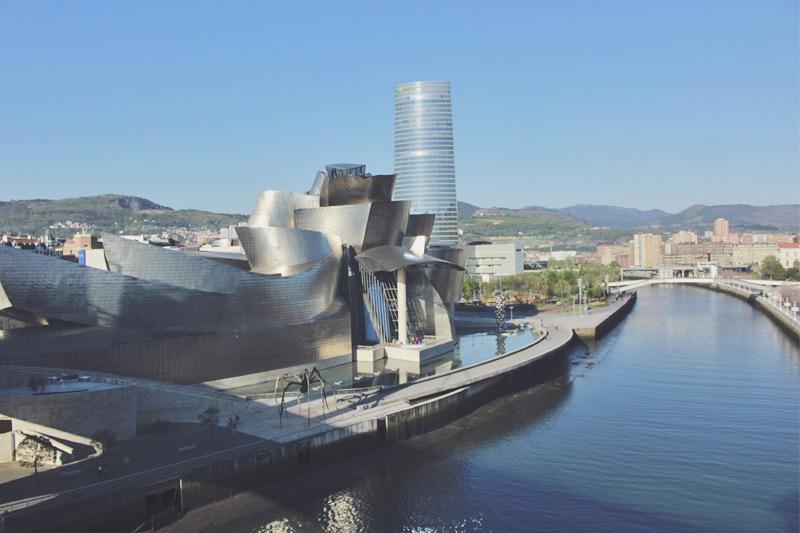 Guggenheim Museum Bilbao Španielsko