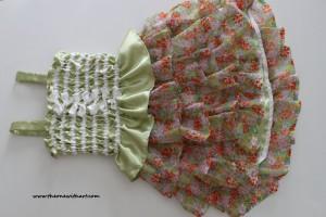 spring grass dress 2