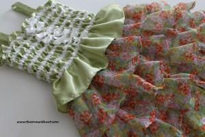 spring grass dress 1