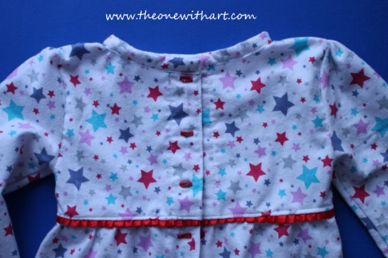 Pyjamas pattern for kids 15