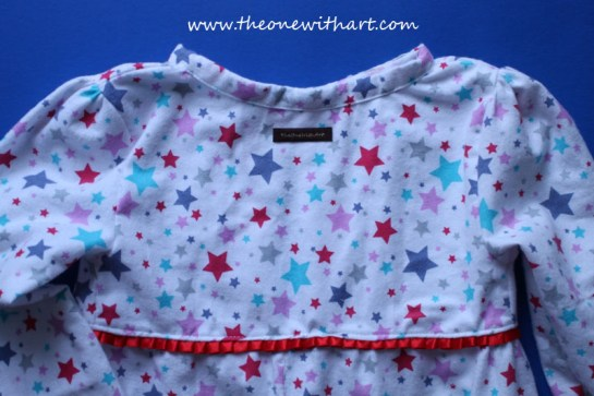 Pyjamas pattern for kids 17