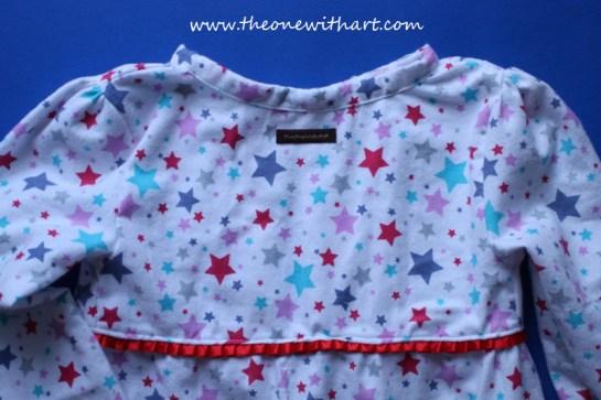 Pyjamas pattern for kids 17