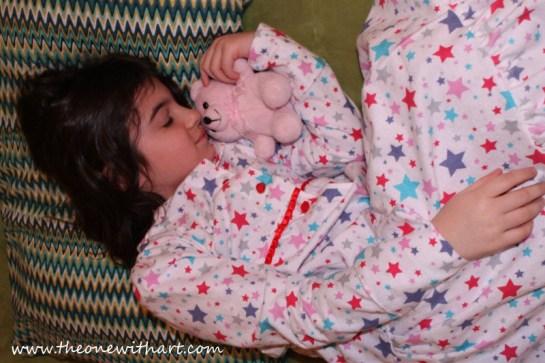 Pyjamas pattern for kids 19