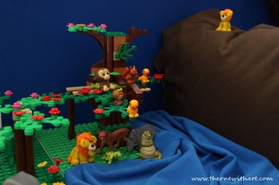 baby lion lego story 2