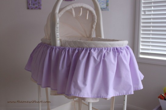 bassinet make over 10