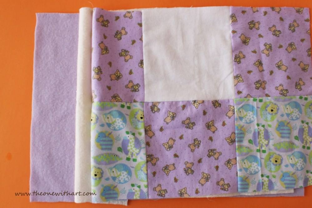 Nursery - Part 6: Baby Crib Quilt and Pillow (6/6)