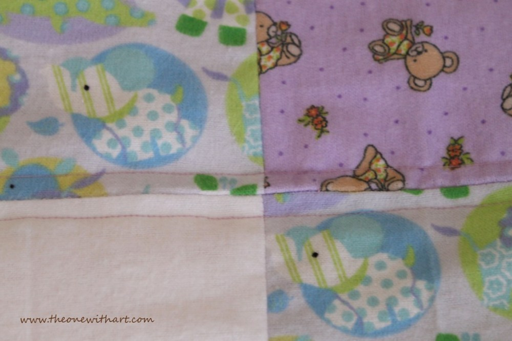 Nursery - Part 6: Baby Crib Quilt and Pillow (4/6)