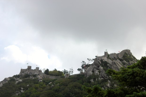 View of the Moorish Castle