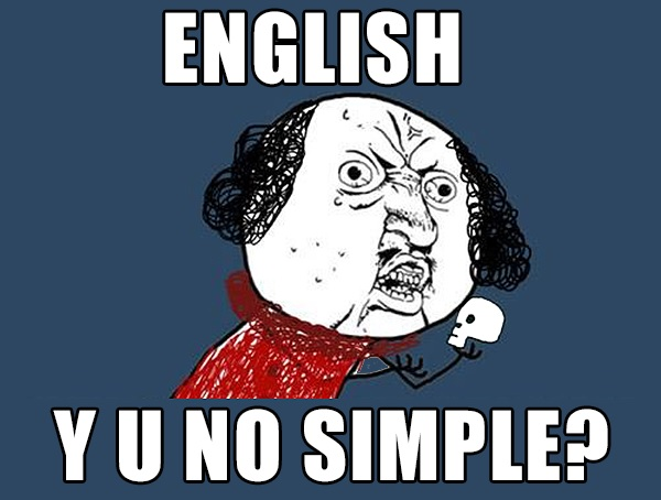 Chinese Mispronouncing English Sentence.