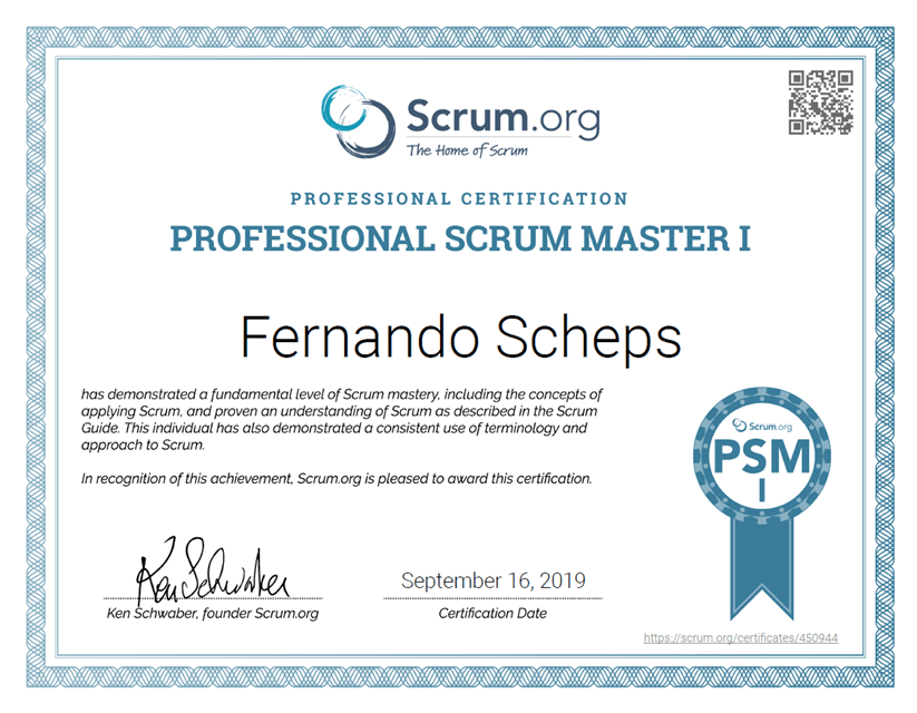 How I prepared for the Professional Scrum Master certification