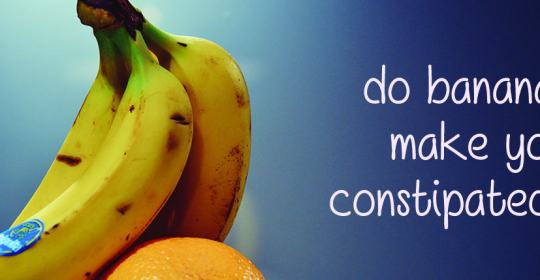 do bananas make you constipated