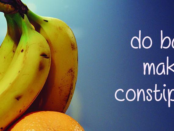 do bananas make you constipated