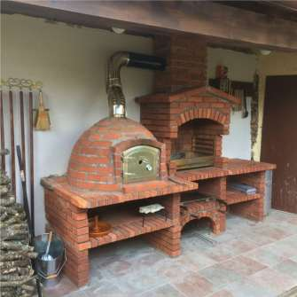 my barbecue brick oven