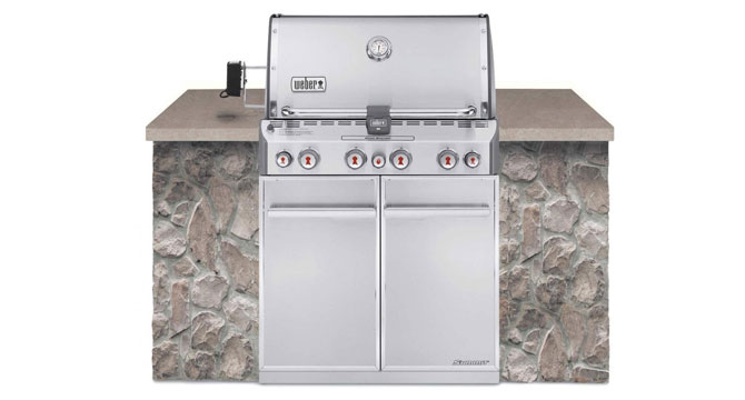 Weber Summit S-460 Built-In Grill