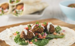 falafel wrap recipe