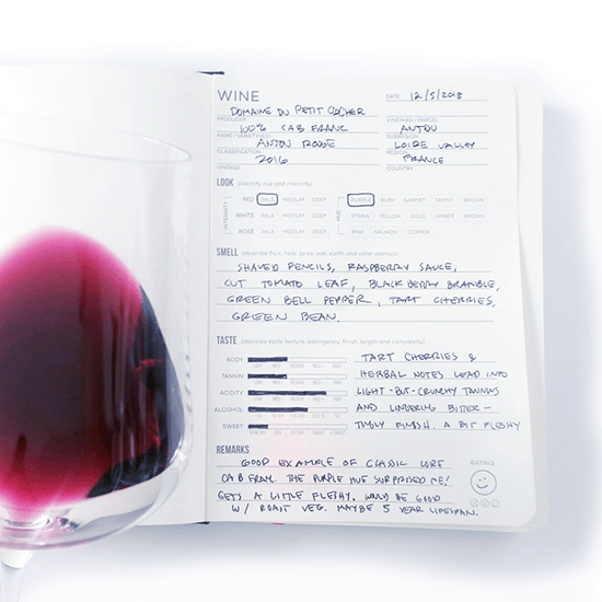 Wine Folly - Wijn tasting journal