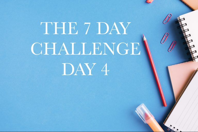 The 7 Day Challenge Day 4: Build A Strategy And Fight Your Demons!