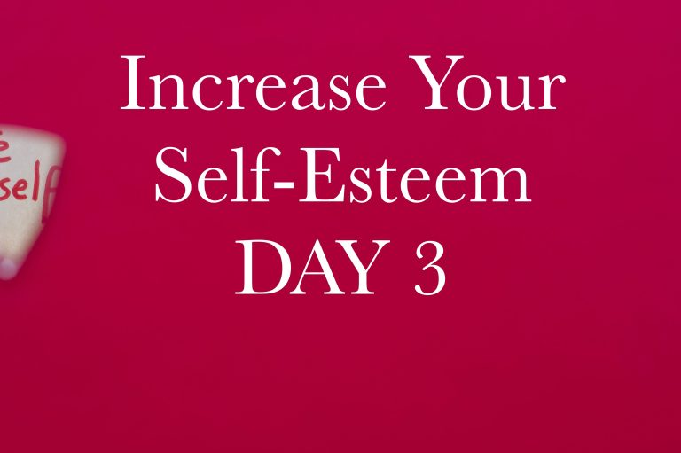 Increase Your Self-Esteem in 10 days. Day 3: Accepting your weaknesses