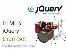 jquery-drum
