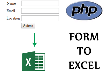 Export form data to Excel (CSV) in PHP
