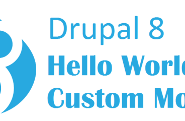 Let's create a simple custom module in Drupal 8