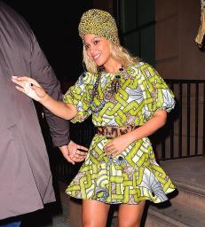 10 times Beyoncè Slayed in African Print | The Only Way Is Ghana