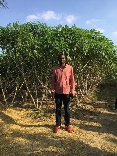 kofi at the farm - theonlywayisghana