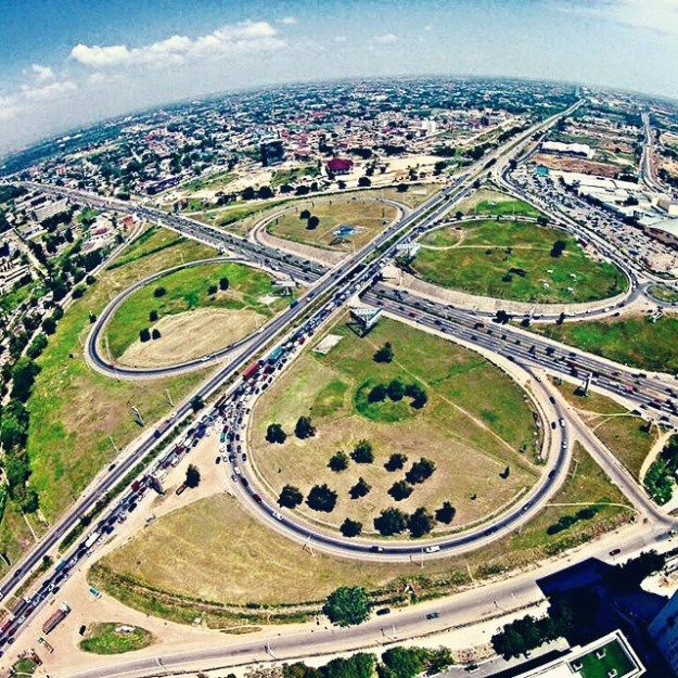 Tetteh Quarshie Interchange - the only way is ghana