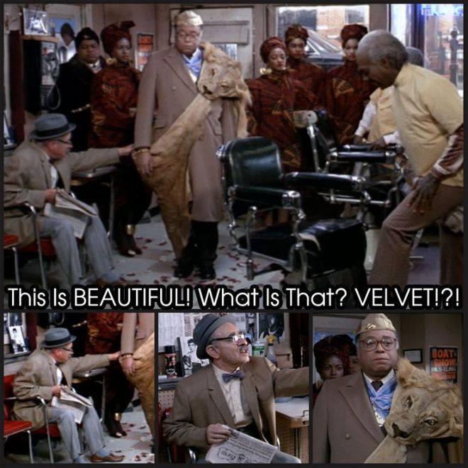 What is that? Velvet meme- theonlywayisghana